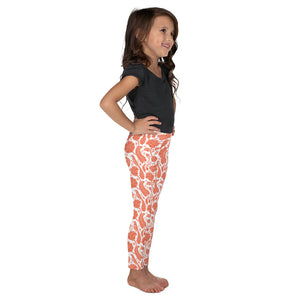 Kids' Leggings Paisley Orange