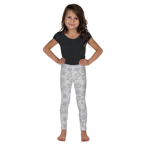 FOLQ Kids' Leggings Mexican Bird Grey