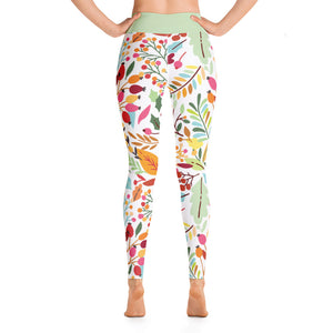 Perfect Yoga Leggings Fantasy Rosehip