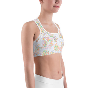 Sports Bra Mexican Bird Multi