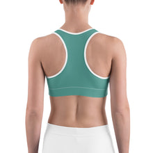 Load image into Gallery viewer, Sports Bra Paisley Emerald