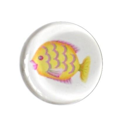 Yellow Fish Magnet