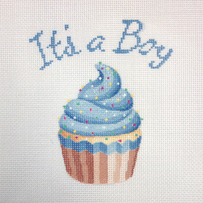 KB 1201 - It's a Boy Cupcake Stand-Up