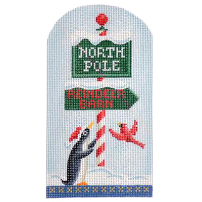 KB 1211 - North Pole - Penguin & Sign