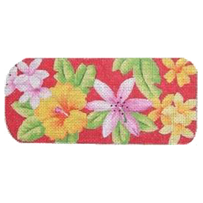 KB 127 - Eyeglasses Case Tropical Red