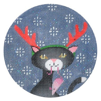KB 168 - Black Cat Xmas Circle