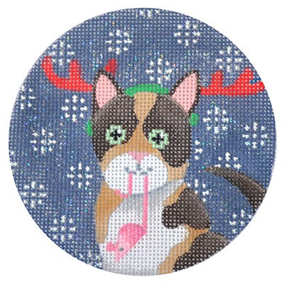 KB 171 - Calico Cat Xmas Circle