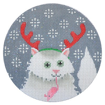 KB 173 - Persian Cat Xmas Circle