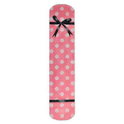 KB 199 - Polka Dot & Bow Eyeglass Case Pink