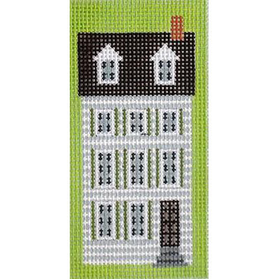 KB 231 - Boston Town House Key Fob