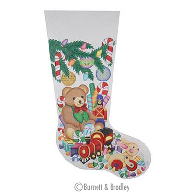 BB 0252 - Christmas Stocking - Teddy Bear & Other Toys