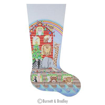 BB 0268 - Noah's Ark Christmas Stocking