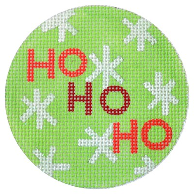 KB 285 - Ho Ho Ho Christmas Circle Green