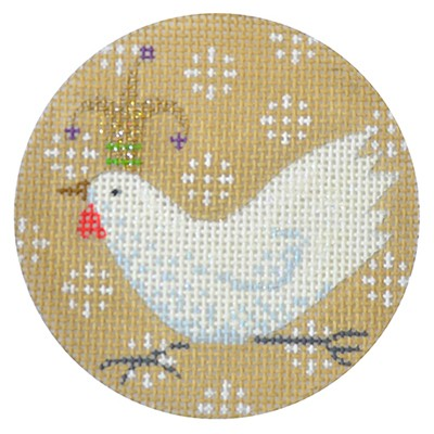 KB 291 - White Chicken Xmas Circle