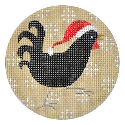 KB 293 - Black Chicken Xmas Circle