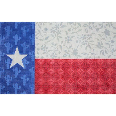 KB 33418 - Texas Floral Flag on 18