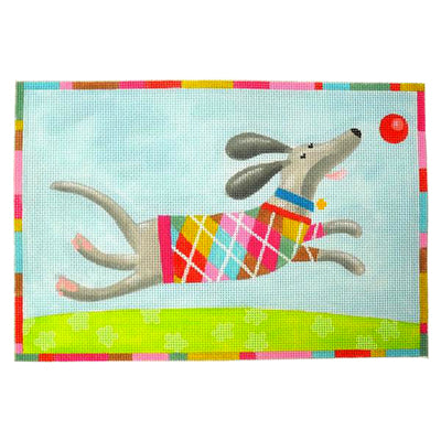 KB 42313 - Flotsam (Dog Argyle Pattern)