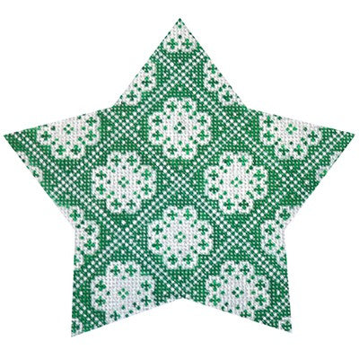 KB 466 - Green Nordic Star Trellis