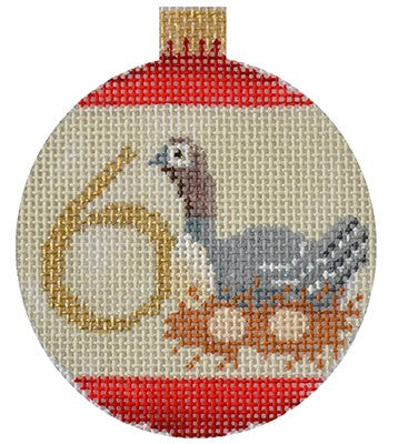 KB 1183 - 12 Days Bauble - 6 Geese