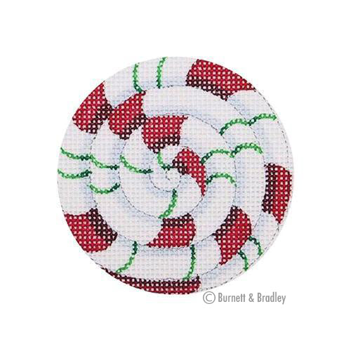 BB 0745 - Pinwheel - Red & Green