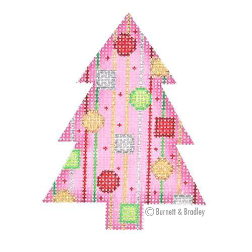 BB 0750 - Mini Tree - Pink with Jewels