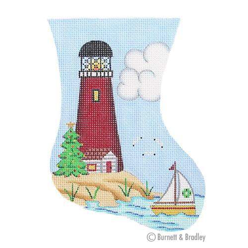 BB 0880 - Mini Stocking - Red Lighthouse