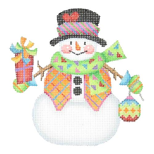 BB 1165 - Snowman with Stick Arms - Present