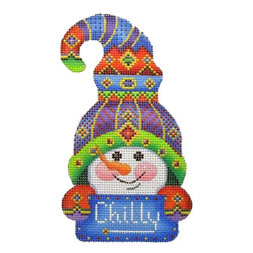 BB 1281 - Snowman Hook Hat - Chilly