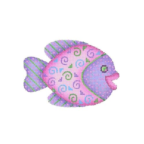 BB 1630 - By the Sea - Pink & Purple Fish