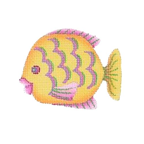 BB 1633 - By the Sea - Yellow & Pink Fish