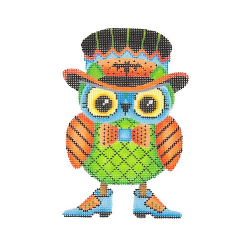 BB 1794 - Halloween Owl - Top Hat