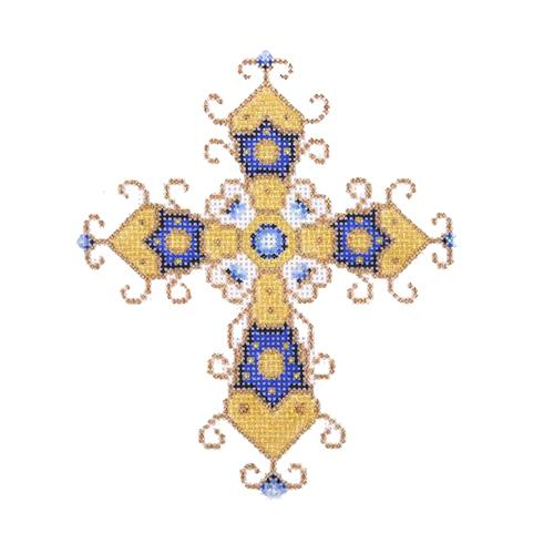 BB 1877 - Cross - Blue & Gold