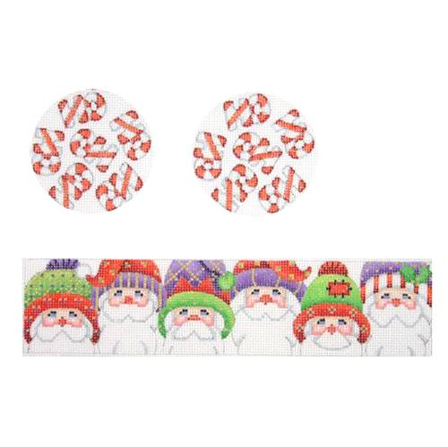 BB 2234 - 3-D Package - Santa Faces