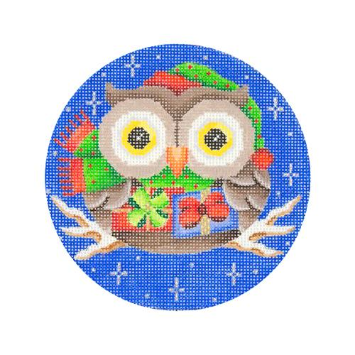 BB 2240 - Owl on Dark Blue - Packages