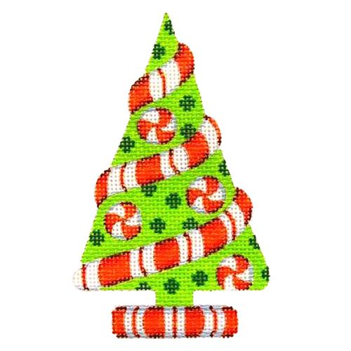 BB 2284 - Green Tree with Peppermint Twist