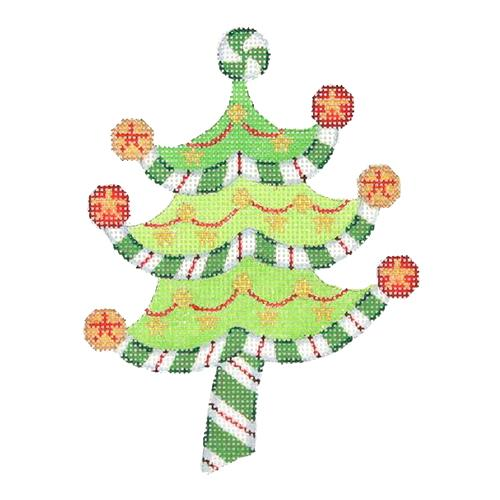 BB 2299 - Peppermint Swirl Tree - Stars