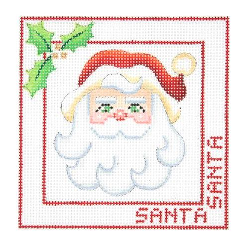 BB 2463 - Santa Face Ornament - Santa