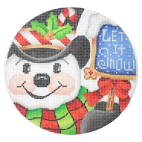 BB 2523 - Snowman Let It Snow Ornament
