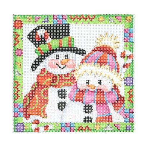 BB 2613 - Whimsy Border Ornament - Snow Couple