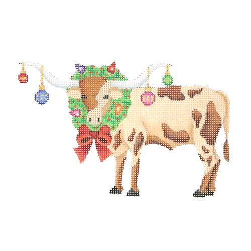 BB 2629 - Longhorn with Wreath