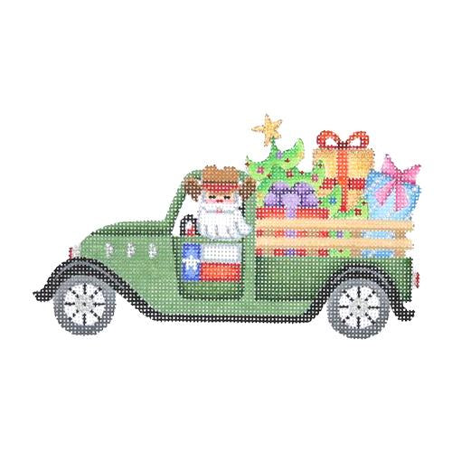 BB 2630 - Santa in a Pickup Truck