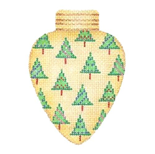 BB 2813 - Christmas Light - Gold with Trees