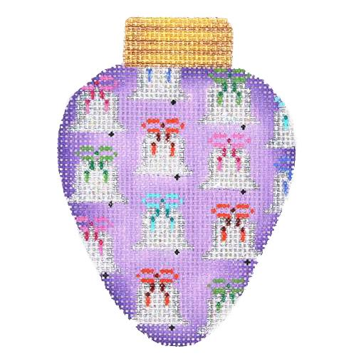 BB 2819 - Christmas Light - Purple with Bells