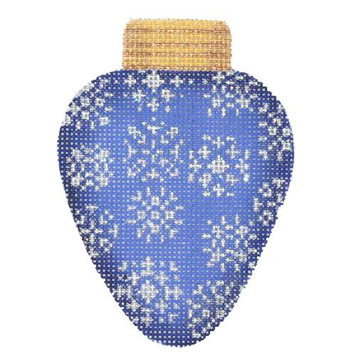 BB 2827 - Christmas Light - Royal Blue with Snowflakes