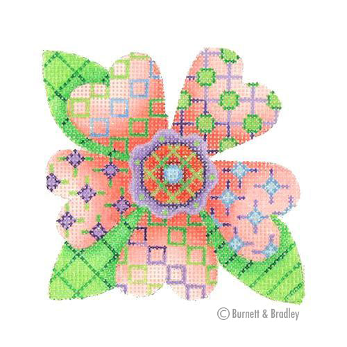 BB 3091 - Patterned Florals - Single Light Pink