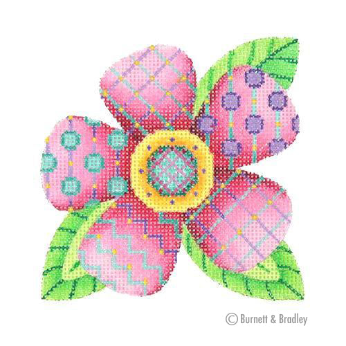 BB 3096 - Patterned Florals - Single Pink