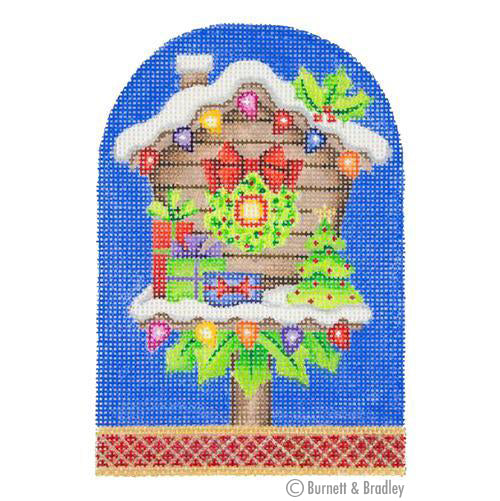 BB 3171 - Packages & Wreath Birdhouse
