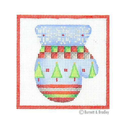 BB 3178 - Square Ornament - Mitten
