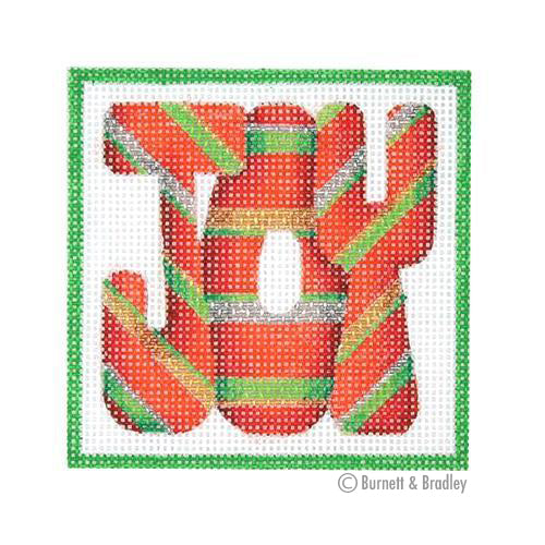 BB 3182 - Square Ornament - JOY