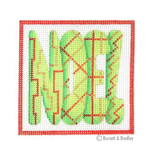 BB 3183 - Square Ornament - NOEL